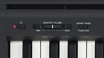 yamaha p45 ta nabilir dijital piyano doremusic. Black Bedroom Furniture Sets. Home Design Ideas