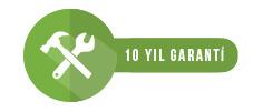 10 Yıl Garanti